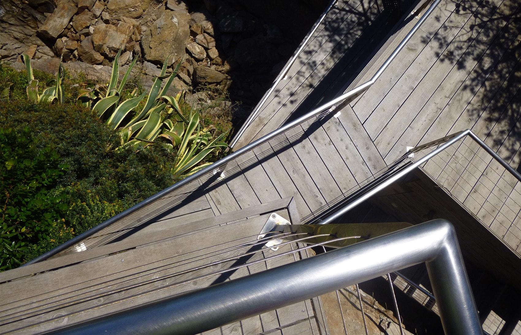 Terrasse sur trois niveaux par Rémi mouilleron